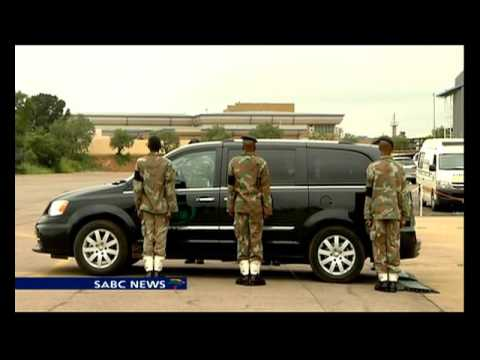 Remains of solider killed in Darfur ambush arrives bacK in SA