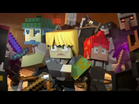 "♪ ""Fight for My Life"" - A Minecraft Original Music Video / Song ♪"