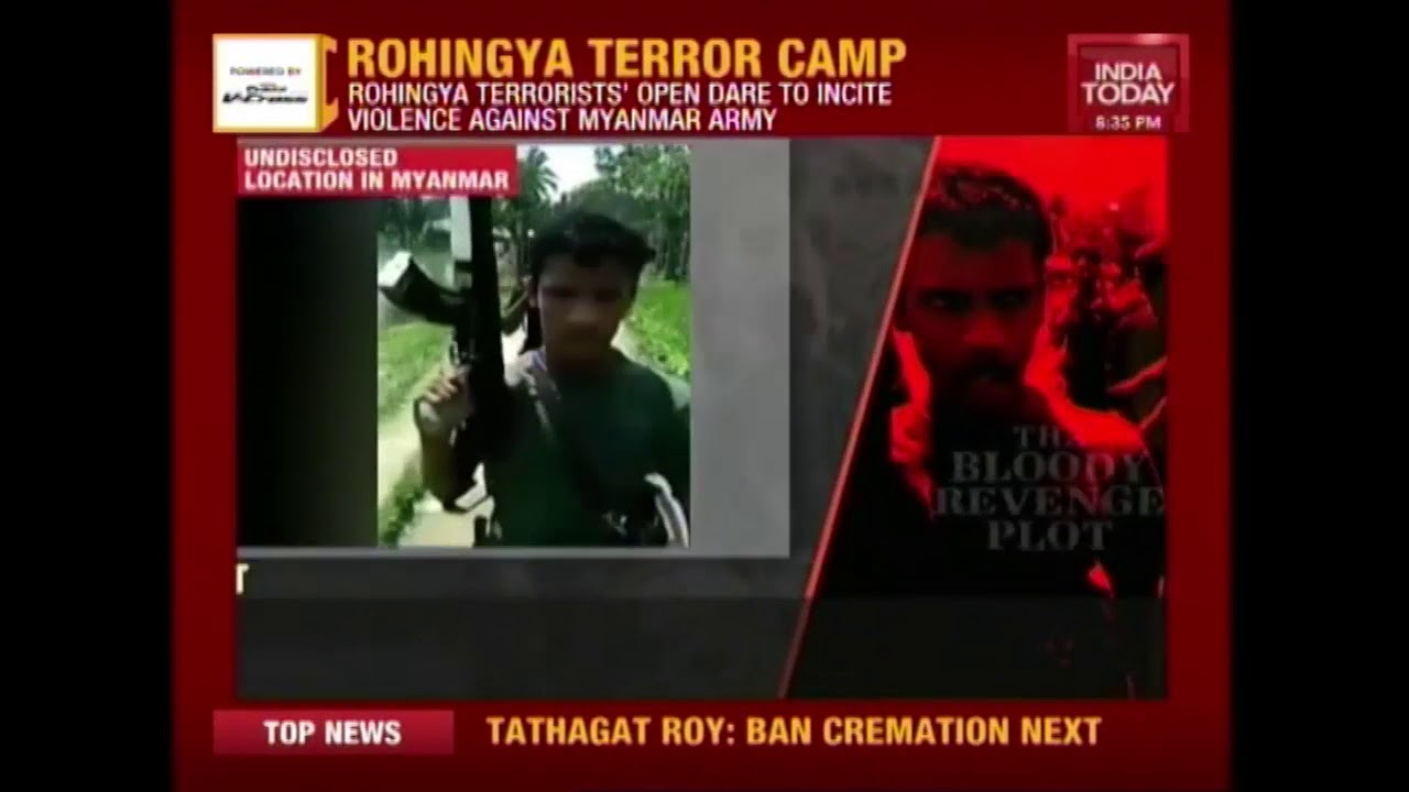 India Today Exclusive From Rohingya Terror Camp In Myanmar