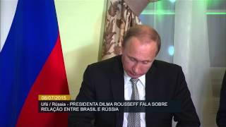 Dilma Rousseff se reúne com presidente russo Vladimir Putin