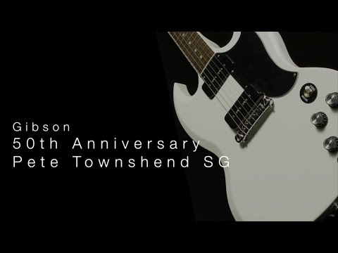 Gibson 50th Anniversary Pete Townshend SG • Wildwood Guitars Overview