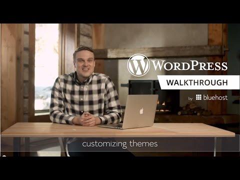 WordPress Walkthrough Series (7 of 10) - Customizing Themes