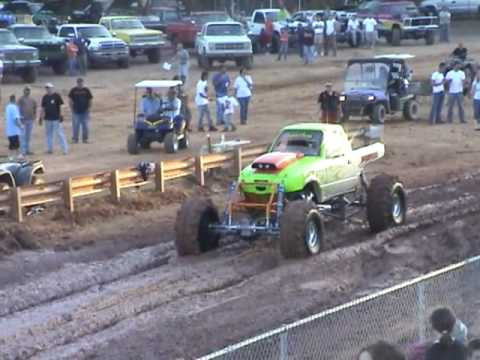 Sports Motorsports Auto Racing  Racing on Hill N Hole Mud Bog Racing Porky Seller S New Truck Mar 7 2009 Lcmmc