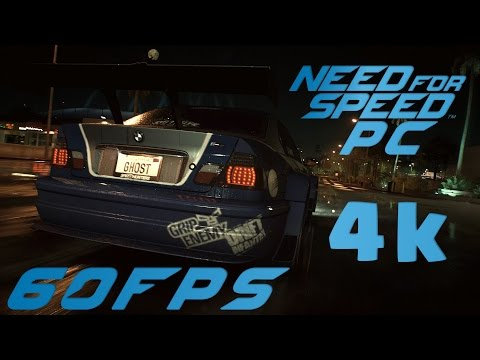 Need For Speed PC 4K 60fps First Race Gameplay Horses For Courses on BMW M3 E46