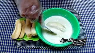 Resep dan Cara Membuat Pisang Goreng Keju Simpel