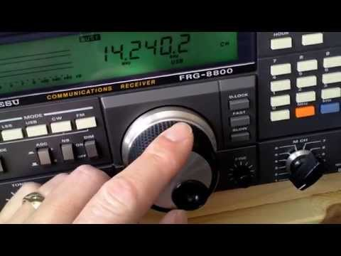 Yaesu FRG-8800 loose / wobble tuning wheel problem.
