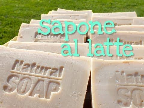 SAPONE AL LATTE FATTO IN CASA METODO