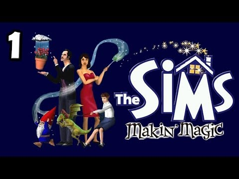 Let's Play The Sims Makin Magic(Part 1) ~ Epic Fail in MagicTown