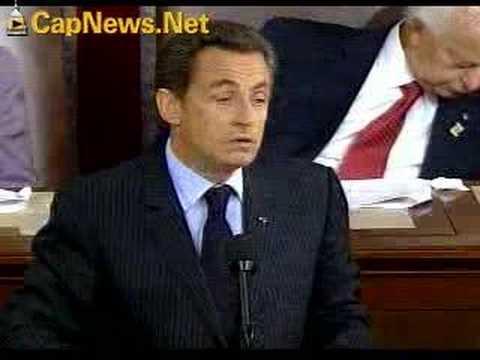 NICOLAS SARKOZY: French President's Speech to U.S. Congress