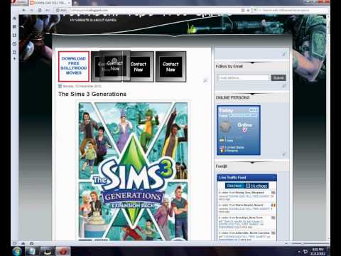 HOW TO DOWNLOAD THE SIMS 3 GENERATIONS FREE