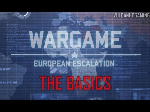 Wargame: European Escalation Tutorial #1 The Basics