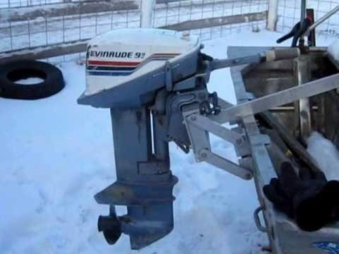 Outboard Engine Bracket Design