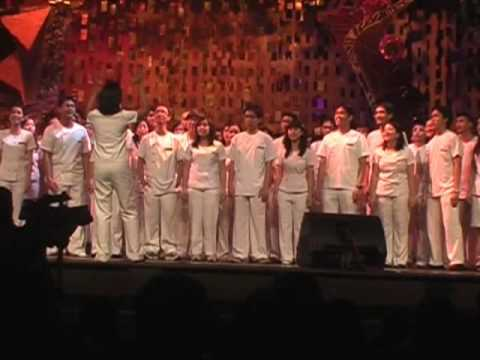 Trp 2009 Class 2012 Chorale - Huling Awit video