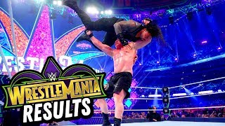 WWE WRESTLEMANIA 34 REVIEW AND RESULTS! Going In Raw Pro Wrestling Podcast