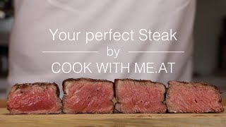 Your perfect Steak - Grilled on the Big Green Egg - COOK WITH ME.AT