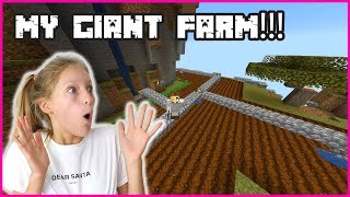 MAKING MY GIANT FARM!