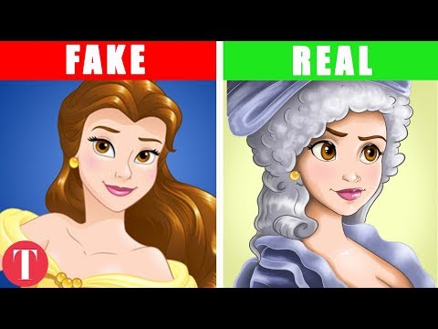 This Is How Disney Princesses Should Have Really Looked #1