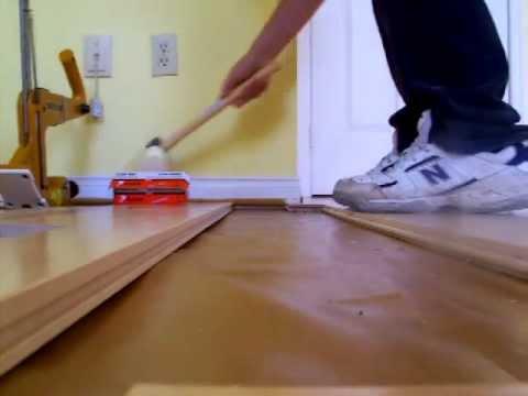 Easy Hardwood floor installation