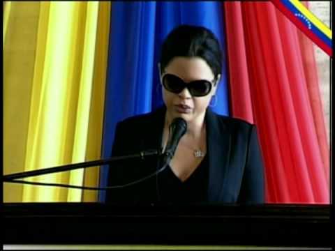 Sepelio del Comandante Chávez parte 4: María Gabriela Chávez