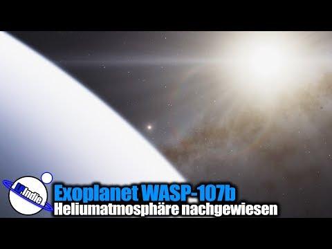 Exoplanet WASP-107b: Erstmals Heliumatmosphäre nachgewiesen