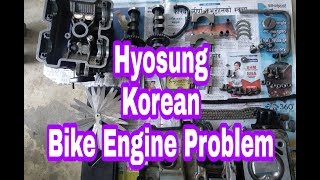 Korean Dirt bike Engine repairing