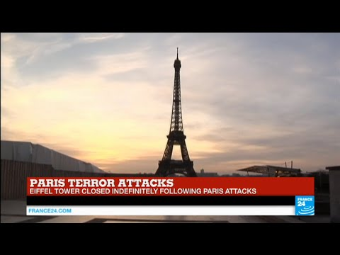 Paris terror attacks: iconic Eiffel Tower closed indefinitely