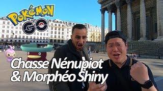 Seb et Ouss : Quêtes Spéciales Nénupiot et Morphéo Shiny - Pokémon GO