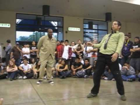 Mr Fantastic Popping Solo Video (Spring 2007)