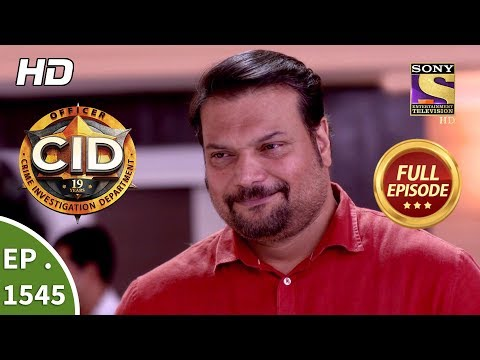 CID - Ep 1545 - Full Episode - 20th October, 2018 thumbnail