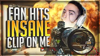 FAN HITS THE MOST INSANE CLIP ON ME!! (BO2 Clips & Funny Moments)