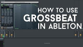 Using Gross Beat VST in Ableton LIVE 10 | Mac OSX