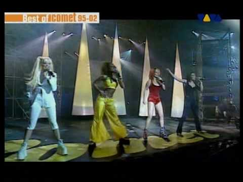 Spice Girls Who do you think you are Live @ Comet Awards 1997