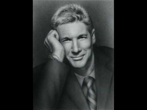 Richard Gere Portrait Drawing step by step