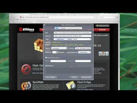 Administrador de Descargas Mac