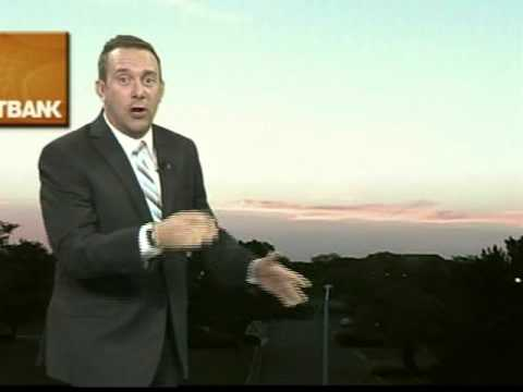 "Meteorologists raps to ""Ain't Nothin' But A G Thang"""