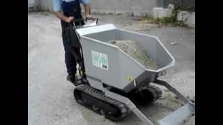 Play motocarriola cingolata ribaltabile 500kg vigor for Grillo 507 usato