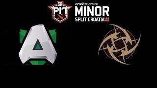 Alliance vs NiP DOTA PIT Minor 2019 Highlights Dota 2