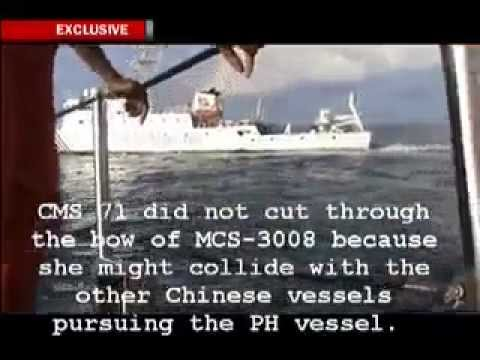 Exclusive! Philippine Coast Guard Bullied by China's Ship