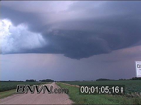 7/31/2004 Wall Cloud Video, Meso Video and Lightning Video