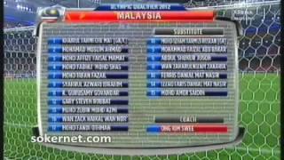 Olimpik MALAYSIA 2-1 Olimpik Lubnan | Part 1