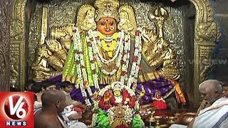 Shakambari Utsavalu Commences Grandly On 5th Day At Warangal Bhadrakali Temple