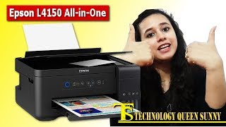 Epson L4150 All-in-One Printer – unboxing, review with 3 different colour printouts