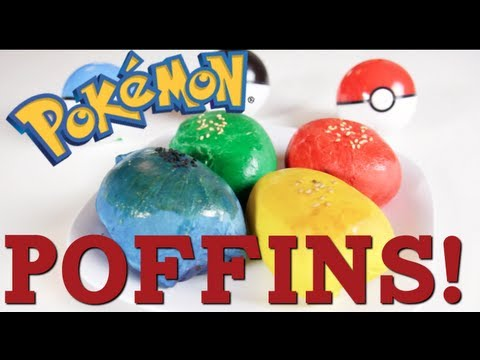RT: http://bit.ly/ITYyD1 Facebook: http://on.fb.me/HM61WA Pokemon Poffins! 2 cups all-purpose flour 1/4 cup milk 2 tbsp sugar 1/3 tsp salt 2 tbsp butter 1 ts...