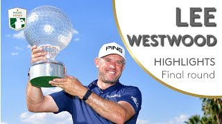Lee Westwood Winning Highlights   2018 Nedbank Golf Challenge