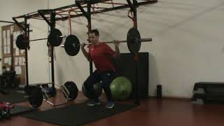 Weights Program Stage 1 Hypertrophy   Day 2 Ex  6 Back Squats