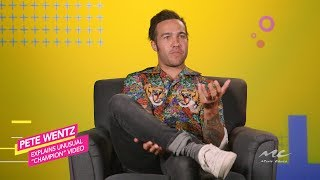 "Pete Wentz Explains ""Champion"" Viral Video"