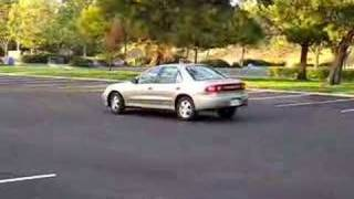 My wife parking (Canon ELPH SD-850 video test)