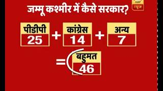 BJP-PDP Break Up: Here's How J&K Govt Can Be Formed | ABP News