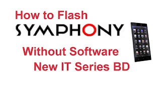 How to Flash Symphony mobile without software