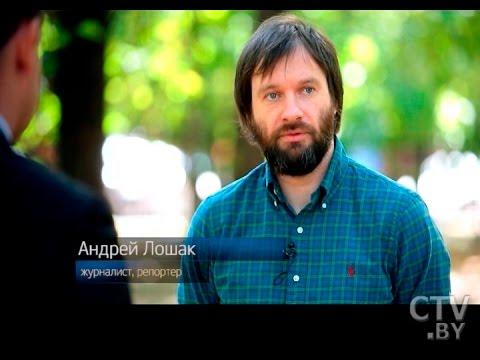 Телевизионный репортер Андреей Лошак в программе «Простые вопросы» с Егором Хрусталевым